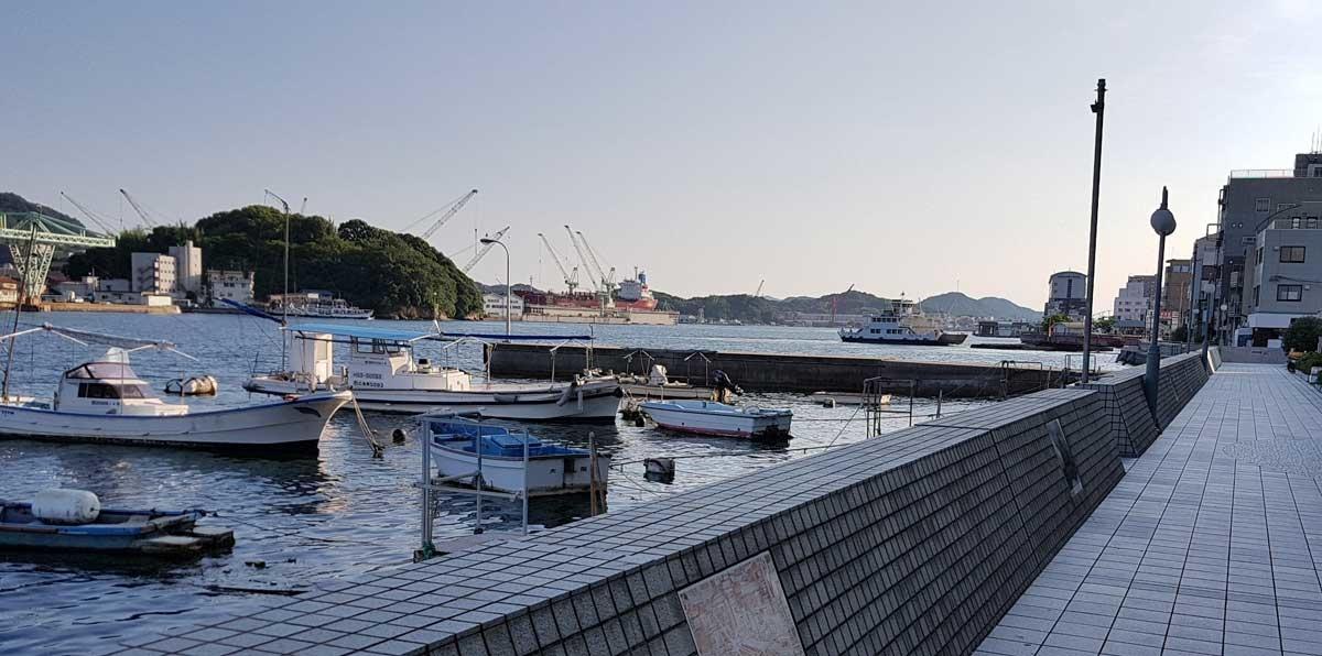Le port d'Onomichi