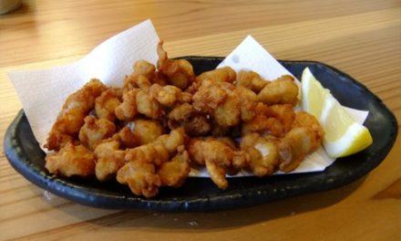 Les cartilages de poulet frits