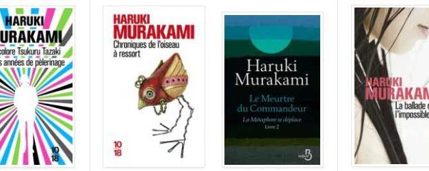 Top 10 : les 10 meilleurs livres de Haruki Murakami