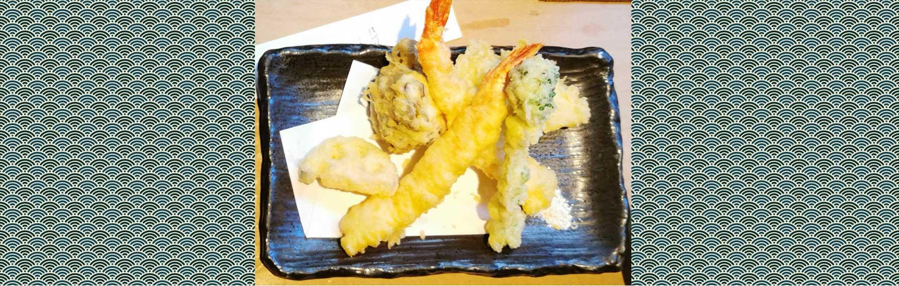 plas japonais typiques : tempura