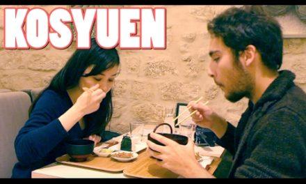 Les Restos d'Ichiban #2 KOSYUEN, salon de thé japonais Paris