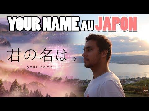 Les endroits de YOUR NAME au Japon