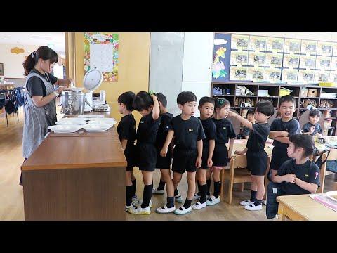 Une journée à l'école maternelle au Japon
